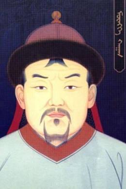 ▲ 멍케칸(원 헌종 원 세조의 아버지: 1209~1259). 원대 그림