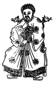 ▲ 원 혜종(14세기 그림) 동생인 원영종과 많이 닮은 모습이다. ⓒ김운회