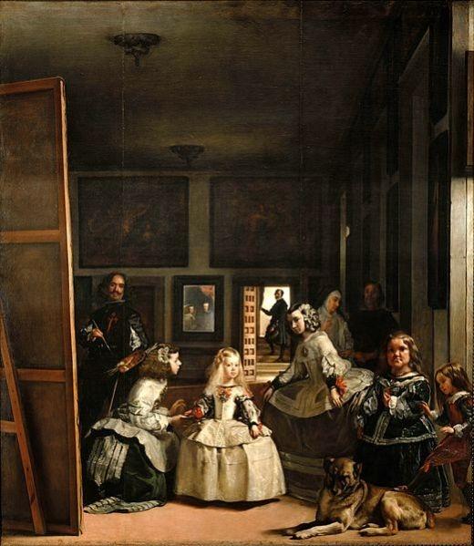 ▲ 디에고 벨라스케스의 <시녀들 />(1656년). ⓒWikimedia Commons