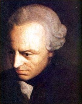 ▲ 18세기 이마누엘 칸트의 초상화. ⓒWikimedia Commons