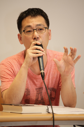 ▲ 전문 인터뷰어 지승호. ©프레시안(최형락)