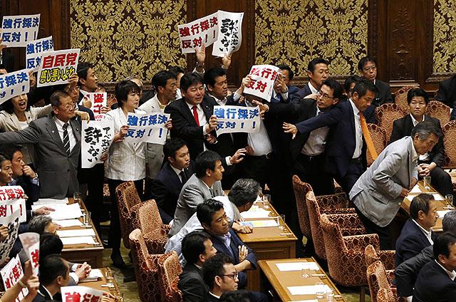 일본 중의원 안보법제특위